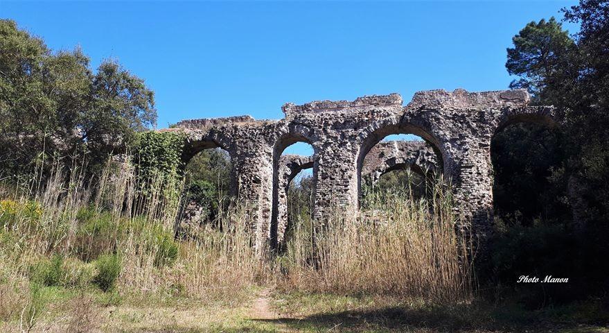 Aqueduc romain de Mons à Fréjus (Var)