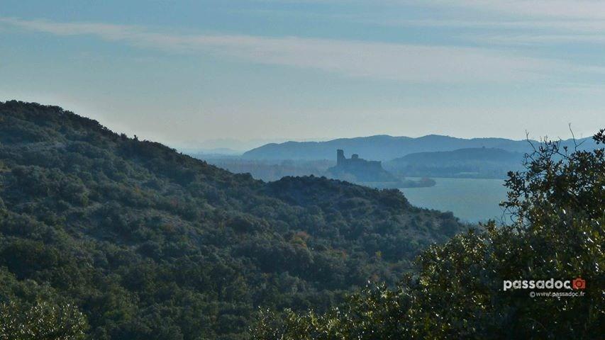 Chateau à Montfaucon Gard - photo Colette Valli Richomme 2