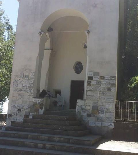 Notre dame de Pancheraccia corse vierge pèlerinage - photo Lorenzina Aigle Blanc 2