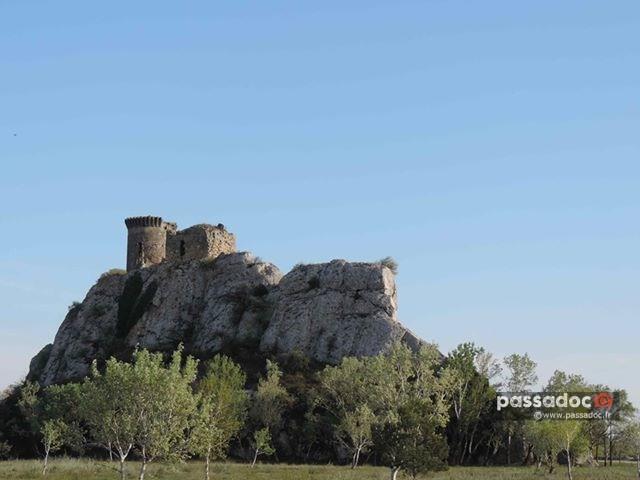 Tour de L Hers en bord de Rhône - Commune de Chateauneuf du Pape
