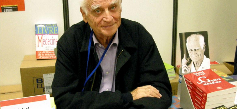 Michel Serres à Saint Dié des Vosges au Festival International de Géographie de 2008