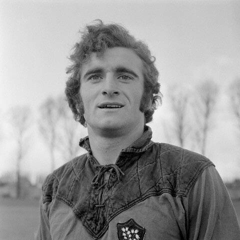Daniel Herrero portant le maillot du Rugby Club Toulonnais (RCT) - Auteur photo inconnu