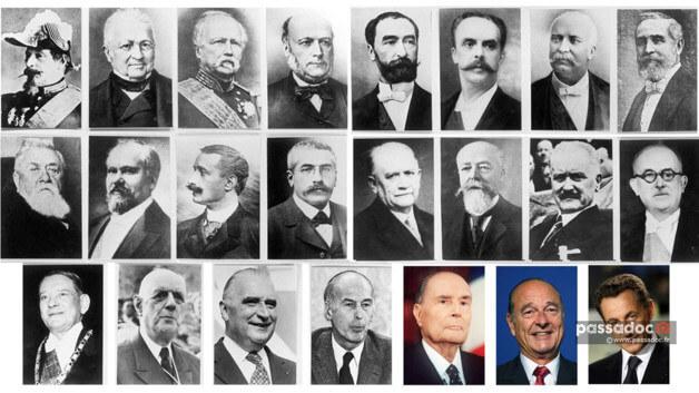 Présidents de la république française